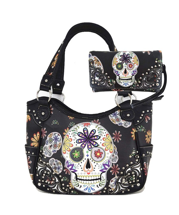 Halloween Western Womens Shoulder Handbags