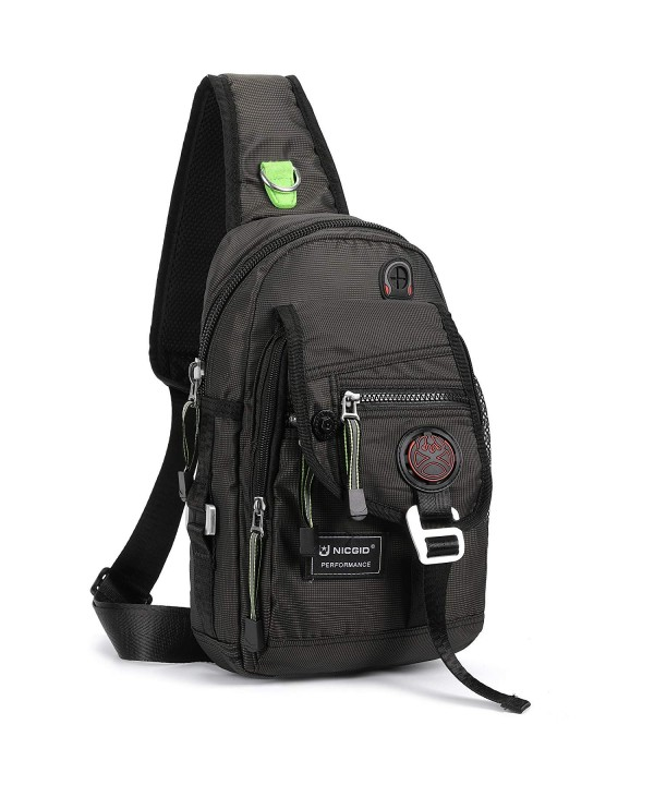Nicgid Backpack Crossbody Tablet Outdoor