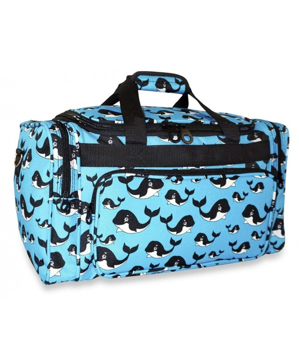 Ever Moda Whale Duffle Bag