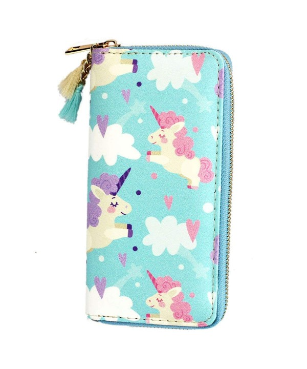 Timlee Fashion Cartoon Rainbow Unicorn