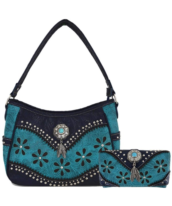 Leather Concealed Western Handbags Shoulder