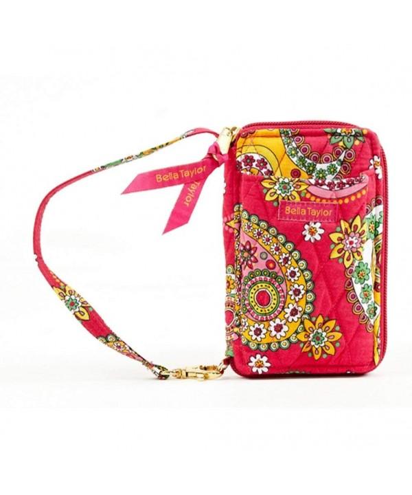 Bella Taylor Wristlet Wallet Jazzberry