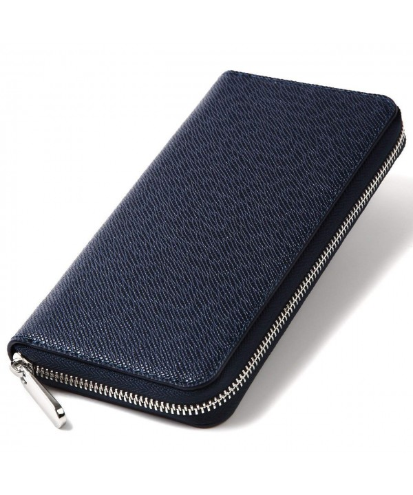 Gracave nisex Blocking Zipper Wallet###Women Wallets