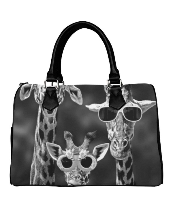 D Story Custom Handbag Giraffe Shoulder