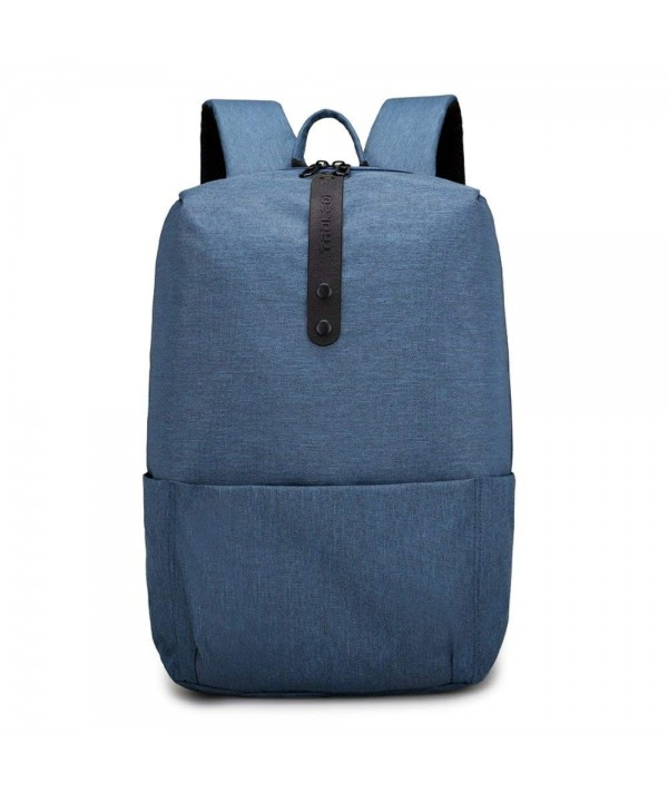 Backpack Light weight Resistant Notebook School Blue