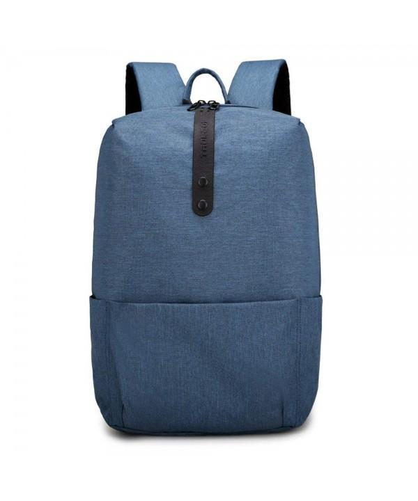 Backpack Light weight Resistant Notebook School Blue