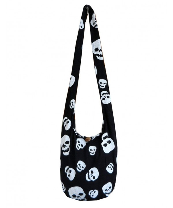 Skull Crossbody Shoulder Hippie Messenger