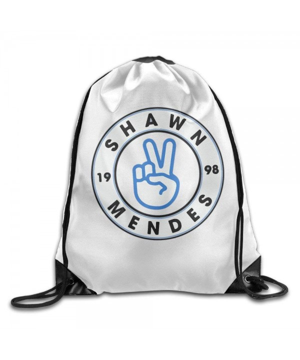 Singer Shawn Mendes Drawstring Backpack