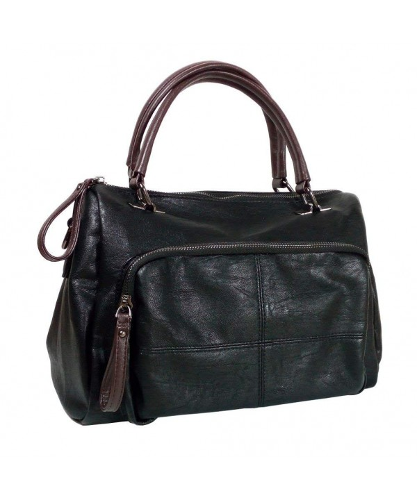BINCCI Leather Handbags Shoulder Satchel