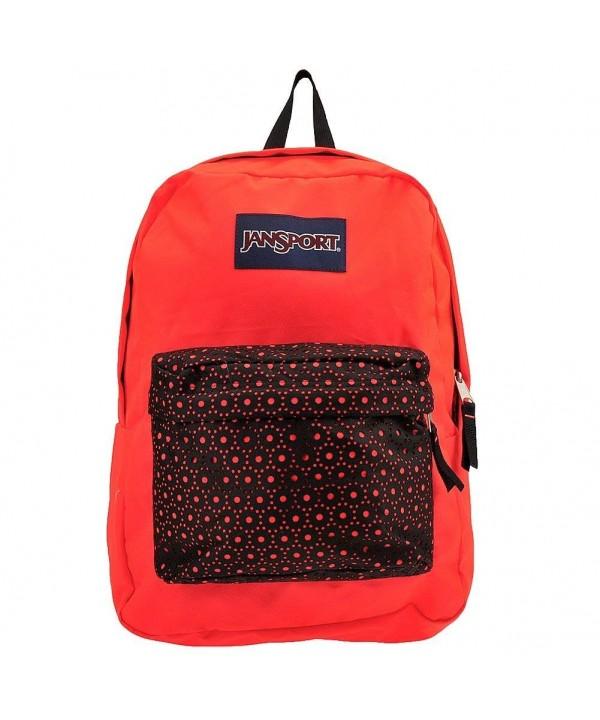 JanSport Stakes Backpack Black Laser
