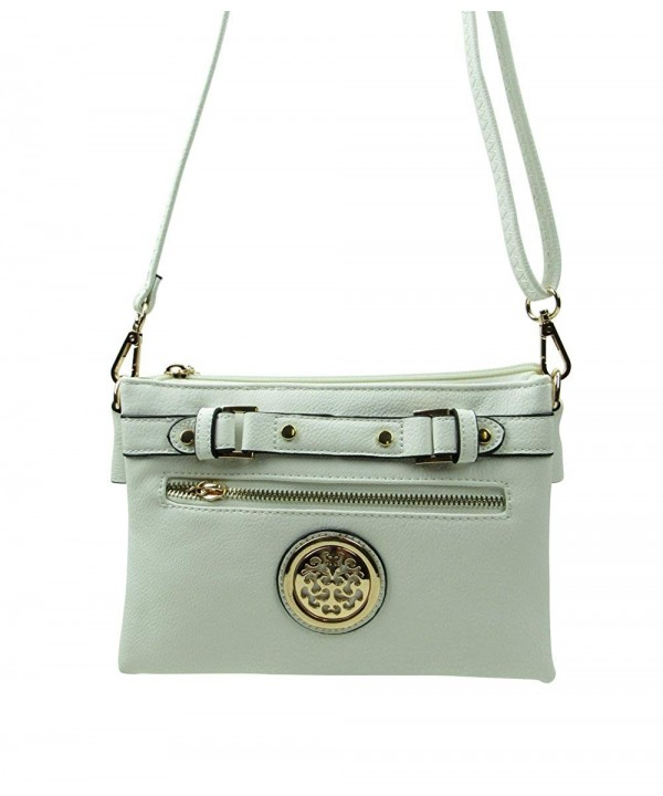 ARNY Top Buckle Crossbody Shoulder Zipper