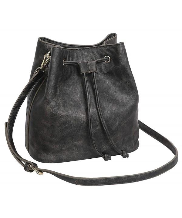 Aitbags Drawstring Bucket Handbag Shoulder