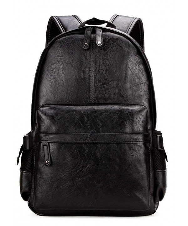 Kenox Vintage Leather Backpack Computer