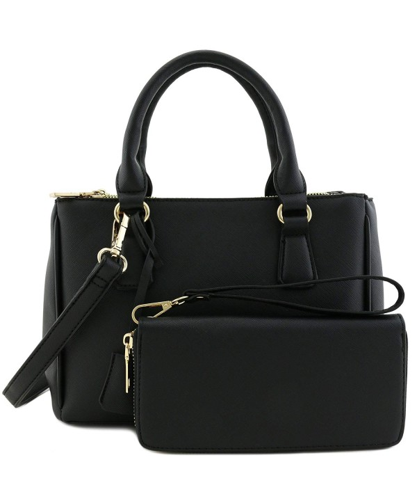 Classic Triple Handle Satchel Around
