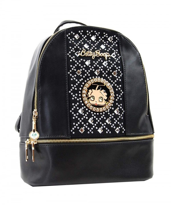 Betty Boop inches Backpack Rhinestones
