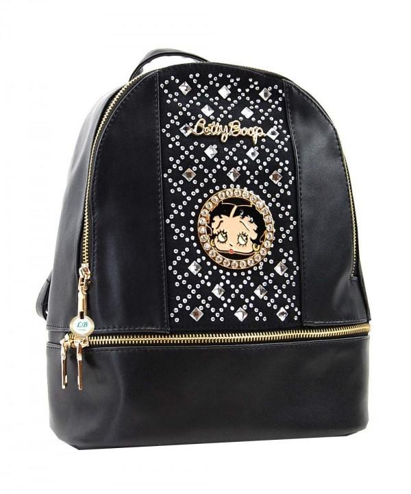 Betty Boop inches Backpack Rhinestones