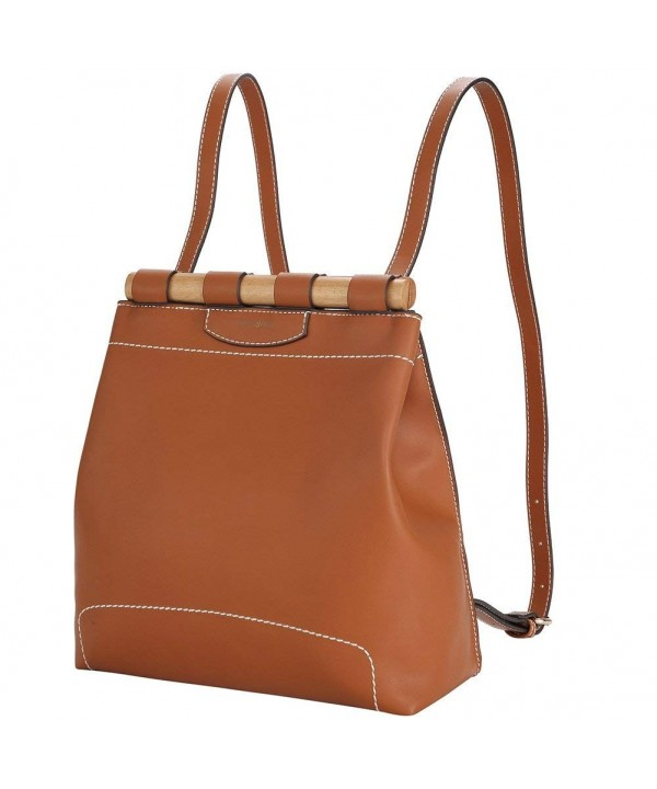 Fashion Backpack Leather Shoulder Rucksack