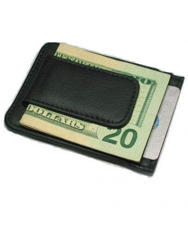 Printed Grain Leather Money Magnet