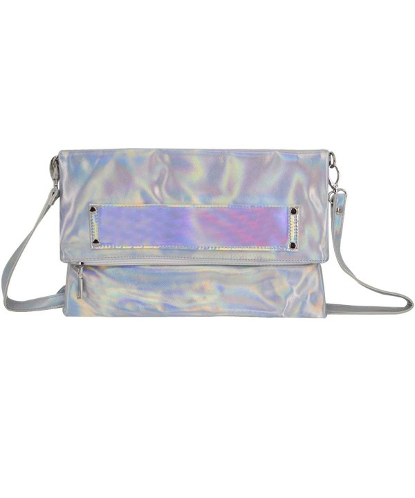 Monique Holographic Cross body Envelope Shopping