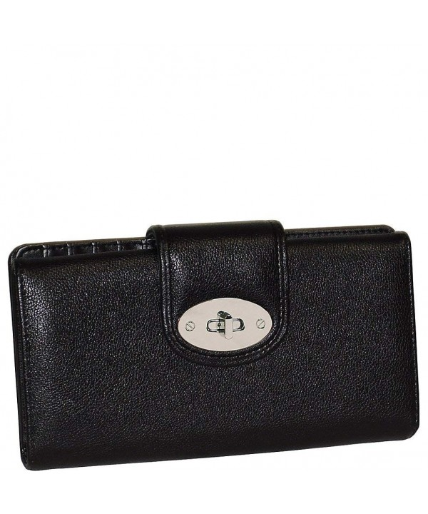 Buxton Jackie Go Superwallet Black