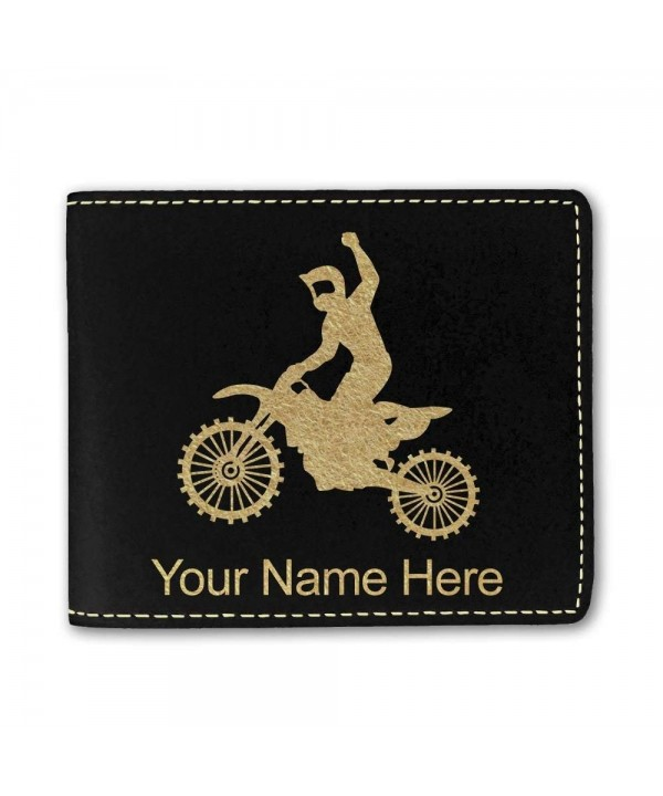 Leather Motocross Personalized Engraving Included