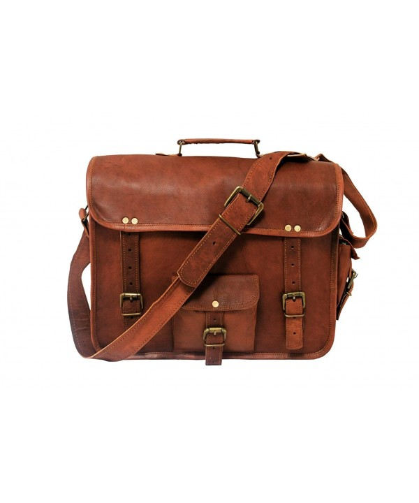 Hlc Genuine Messenger Shoulder Briefcase