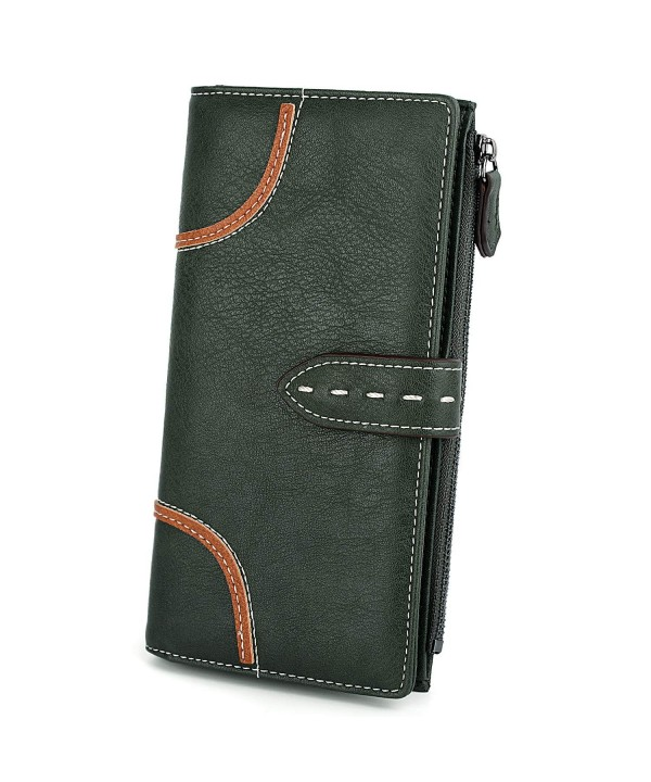 UTO Wallet Holder Organizer Zipper