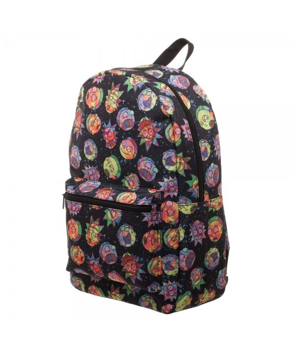 Cosmic Psychedelic Expressions Sublimated Backpack