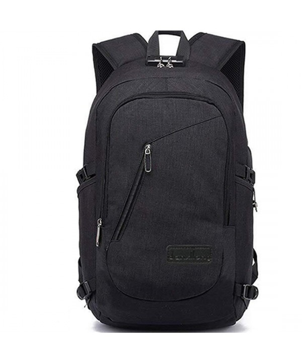 Lightweight Laptop Backpack USB Water Resistant 15.6 Inch Business ... a1c04b866