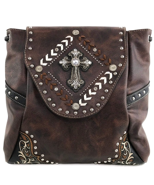 Justin West Western Rhinestone Backpack