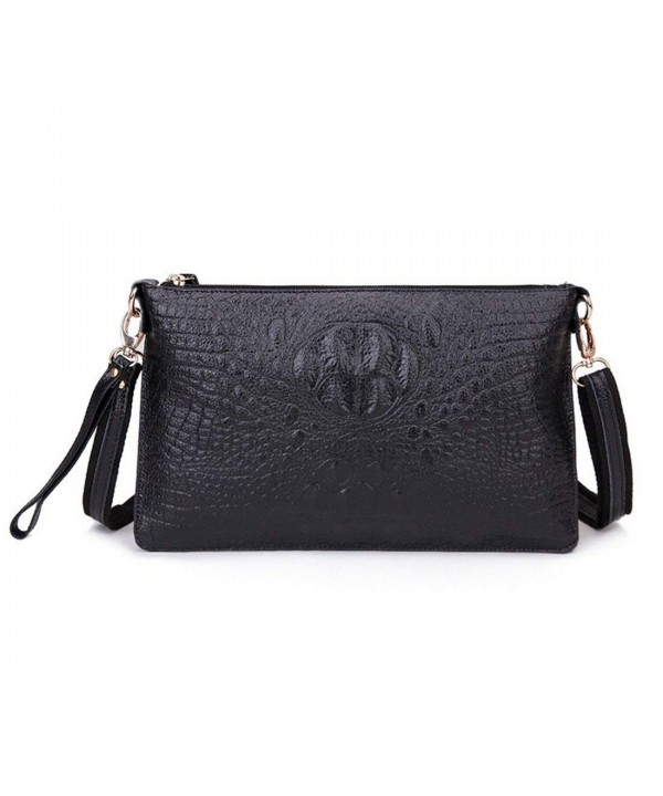 SEALINF Genuine Shoulder Alligator Crossbody