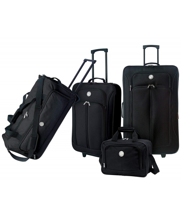 Travelers Club Expandable Accessories Suitcase