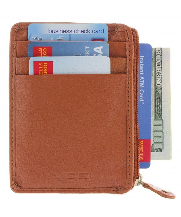 Slim Front Pocket Blocking Wallet