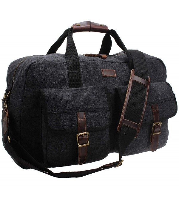 Canvas Leather Travel Shoulder B31