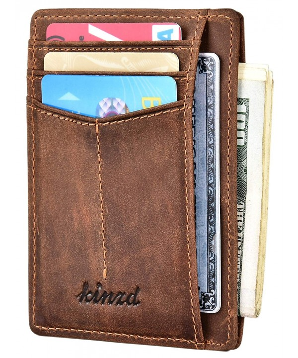 Wallet Pocket Minimalist Secure Credit