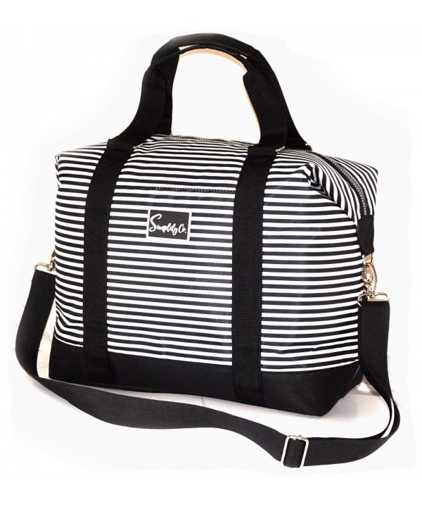 Travel Weekender Overnight Shoulder Stripes