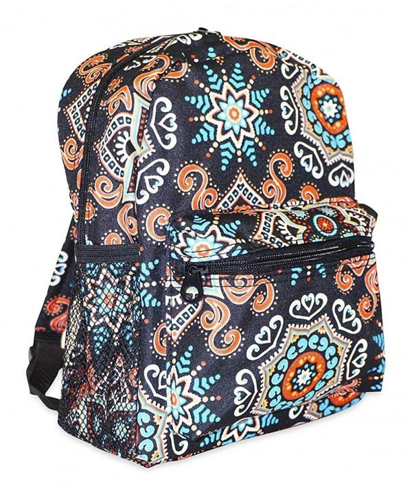 Ever Moda Ethnic Mosaic Backpack