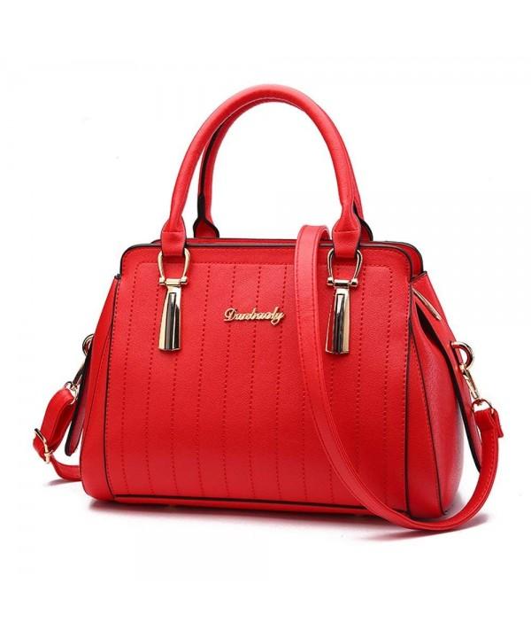 Nevenka Stripe Leather Handbags Designer