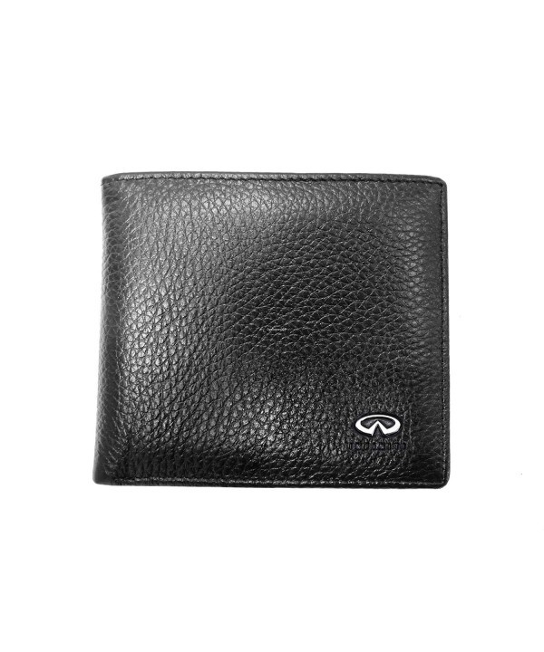 Infiniti Leather Wallet Genuine Bifold