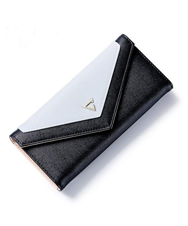OURBAG Womens Envelope Leather Wallet