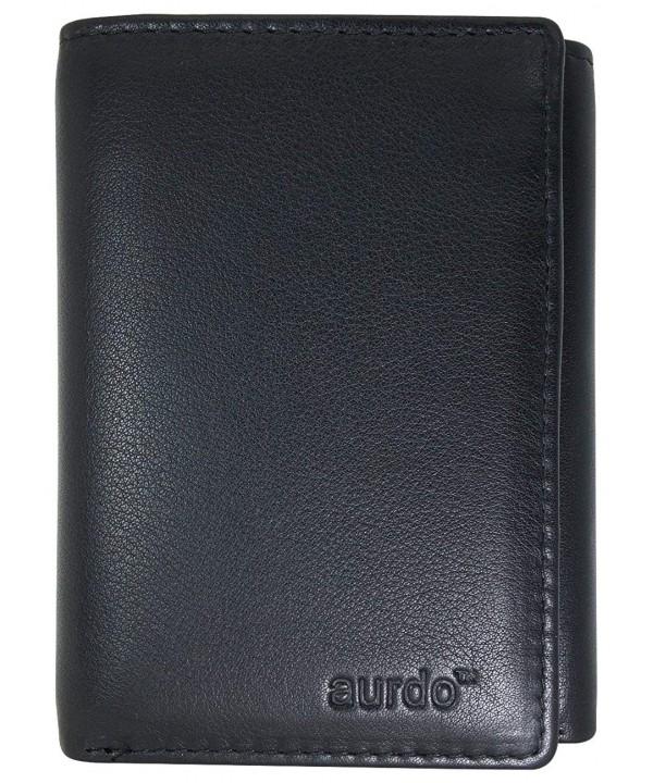 AurDo Blocking Capacity Trifold Wallet