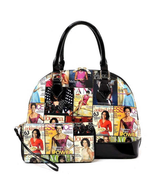 magazine collage satchel bowling Michelle