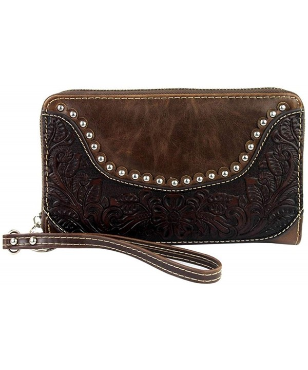 Montana West Zippered Genuine Leather