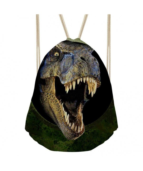 Showudesigns Dinosaur Children Drawstring Daypack