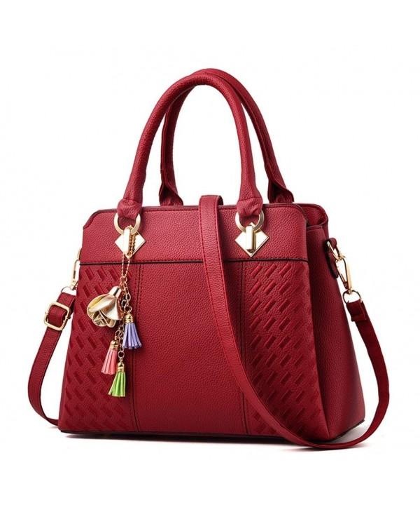 Caissip Leather Classy Handbag Commute