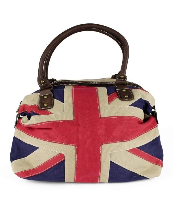 Union Pattern Vintage Handbag Travelling