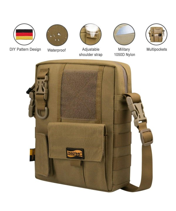 Multifunctional Messenger Crossbody Shoulder Waterproof