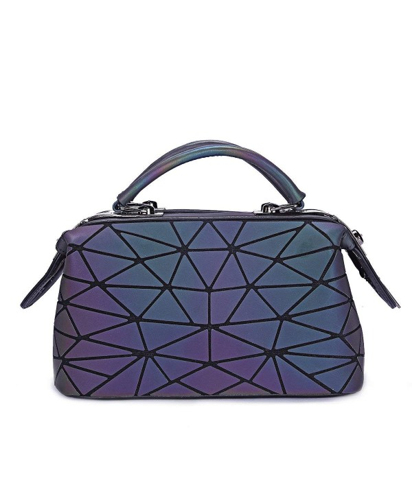 Hologram Luminous Geometric Handbags Reflective