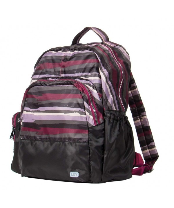 Lug Packable Backpack Painted Cranberry