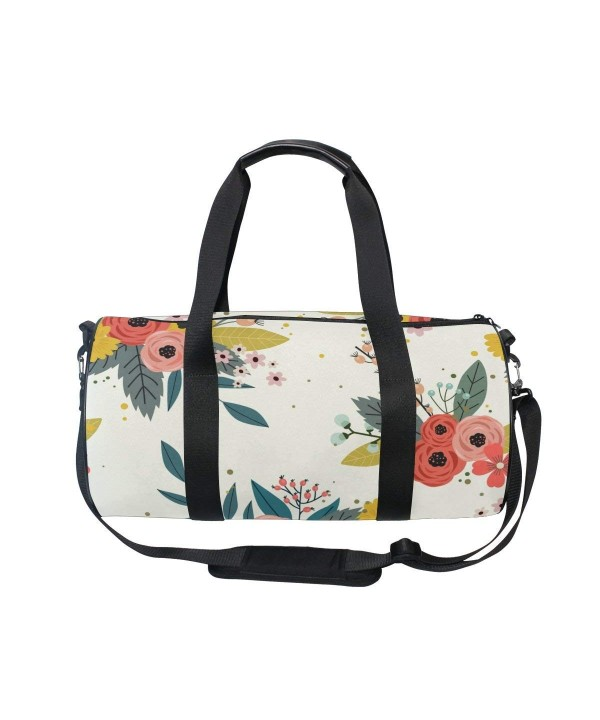 Country Garden Floral Flowers Shoulder